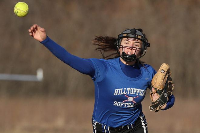 PHOTOS: Burlington battles Catholic Central in softball season opener