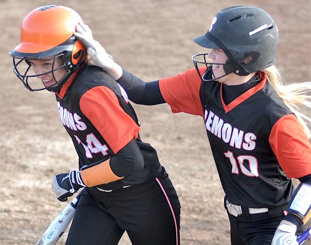Burlington softball walks off in 10