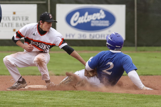 Burlington baseball bounces back after first loss, starts 5-1