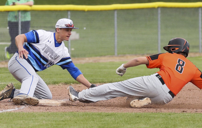 WIAA PLAYOFFS: Pfeil chooses baseball over golf, 1-hits Catholic Central