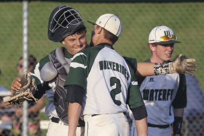 Waterford slugs Burlington, sets up rematch for conference championship
