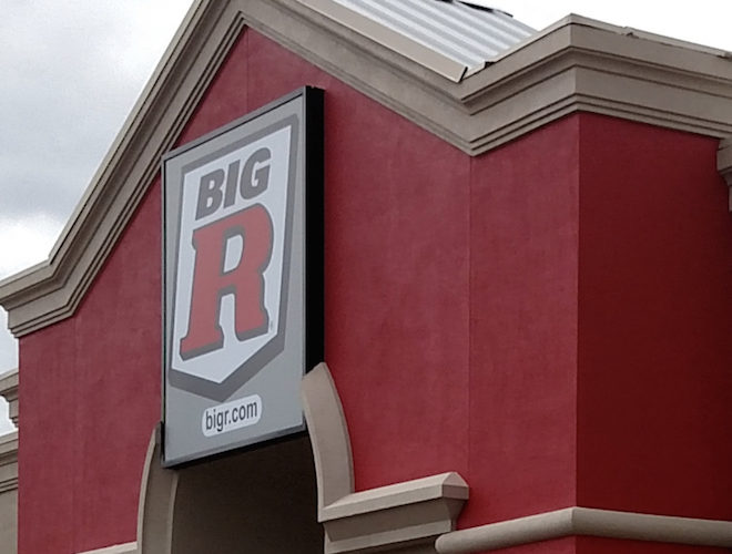 Big R to put its brand on B-town
