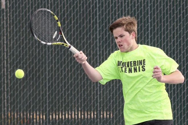 Waterford tennis doubles pair go down with a fight