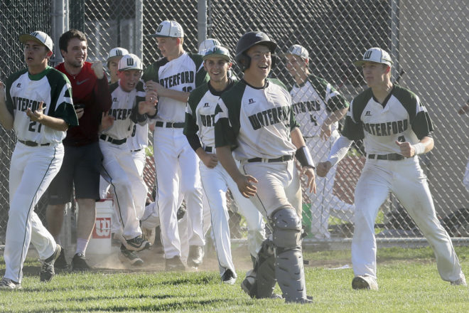 BREAKING: Five-run 4th lifts Waterford past Badger, sets up rubber match with Burlington