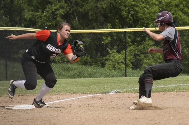 Burlington softball hangs tough with Westosha in regional final loss