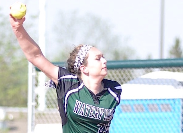Waterford softball wins playoff game before season ends