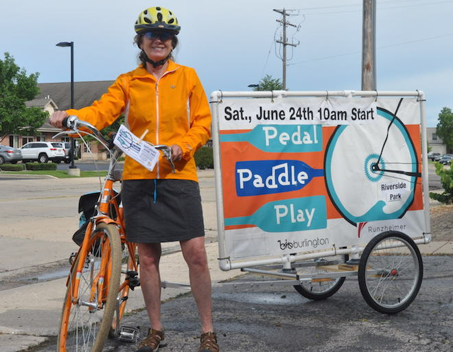 Your chance to Pedal, Paddle, Play