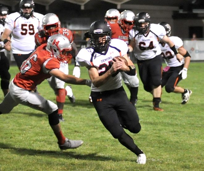 Despite loss, Burlington football gains confidence entering conference play