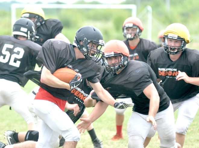 Youth movement: Klug, Tully lead junior-heavy Burlington football squad