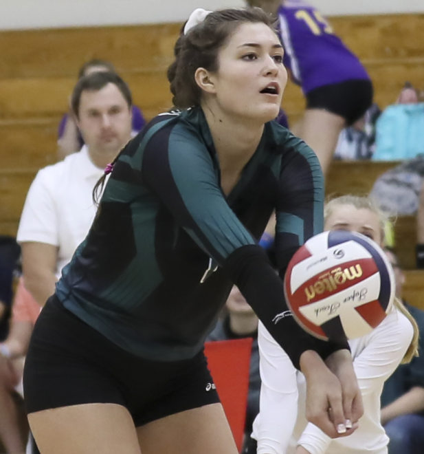 Waterford volleyball ousted in playoffs
