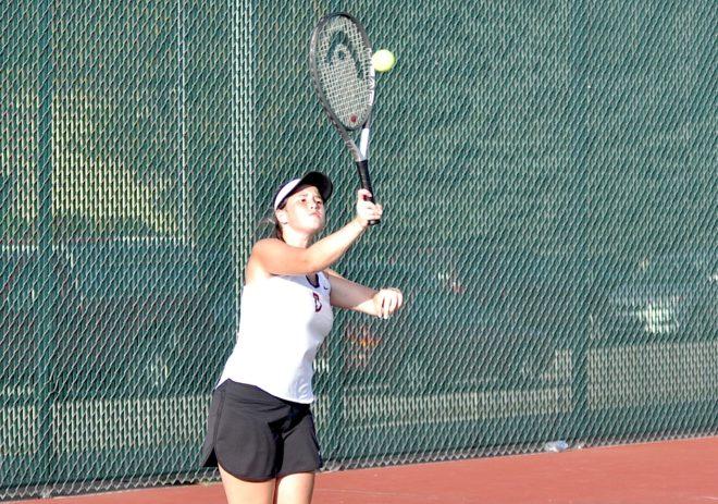 Burlington tennis 4th at SLC meet