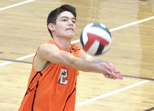 Burlington boys volleyball clinches outright SLC championship