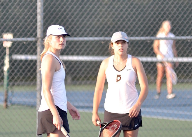 Burlington tennis goes down swinging at state