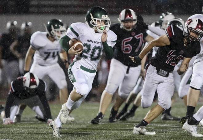 Waterford football runs over Union Grove