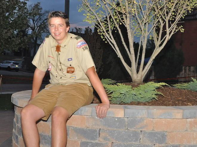Scout overwhelmed by success of park project