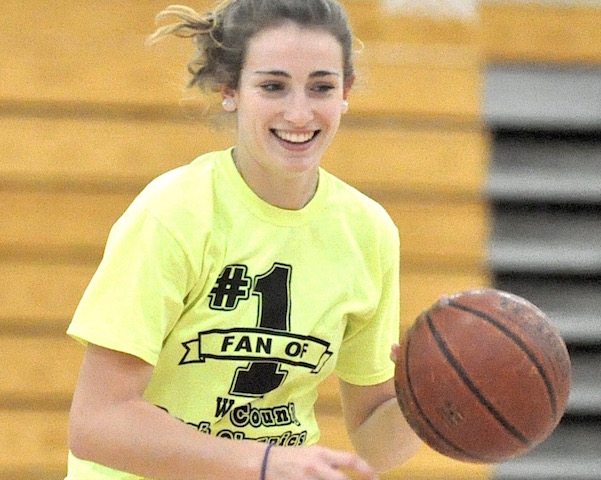 FEMALE ATHLETE OF THE YEAR: Burling leads by example, makes hoops history