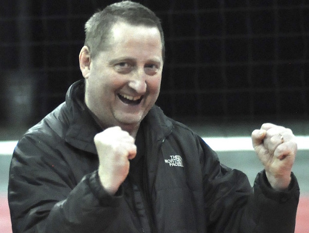 30 years young: Burlington volleyball coach Lynch continues long tradition of family