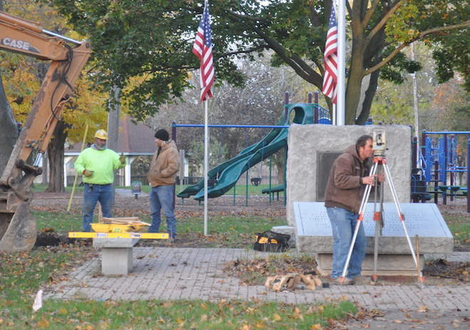 Integrity is key to veterans memorial installation