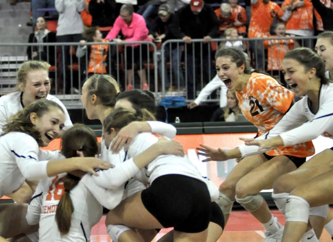 TEAM OF THE YEAR: Burlington volleyball overcomes adversity, captures state glory