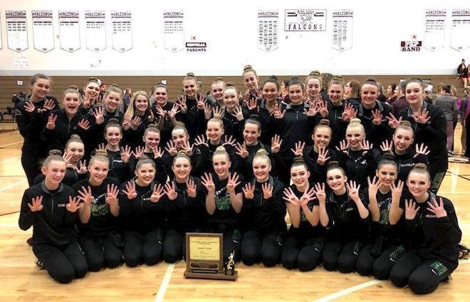 Waterford dance wins 8th straight title