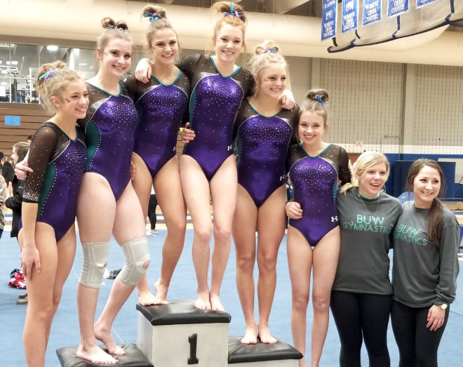 BUW gymnastics returns to state for first time since 2014