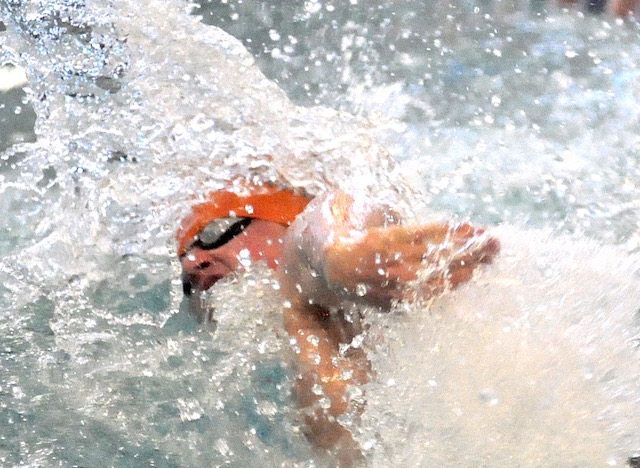 Bleser leads swimmers in Racine
