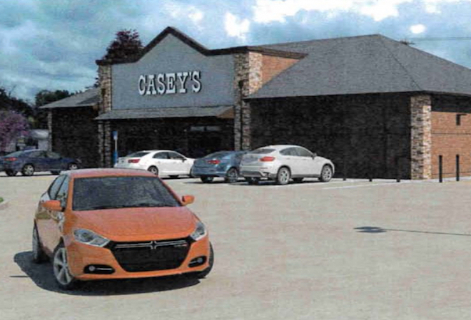 Casey's applies full-court press in area