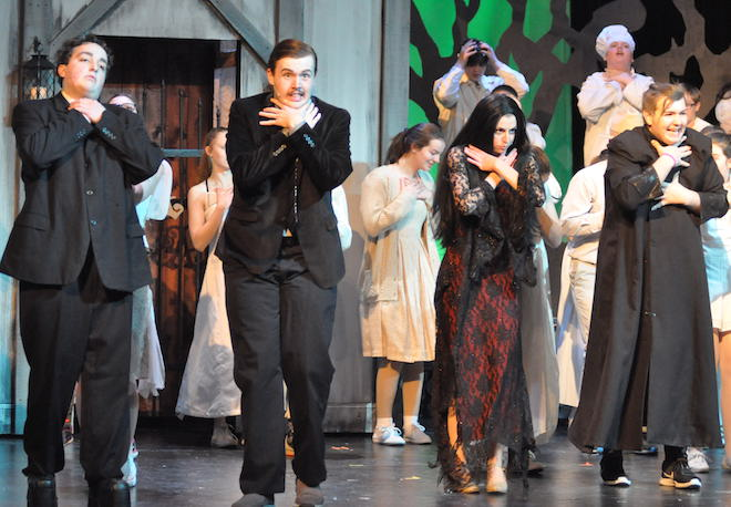 An Addams Family musical