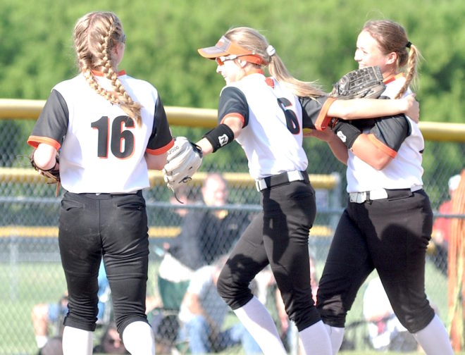 Burlington softball rallies to capture regional championship