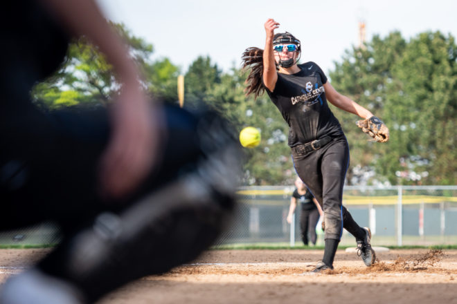 SOFTBALL PLAYOFFS: Lady Toppers shut down Sheboygan Lutheran