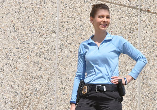 On the case: Seils becomes city's first female investigator