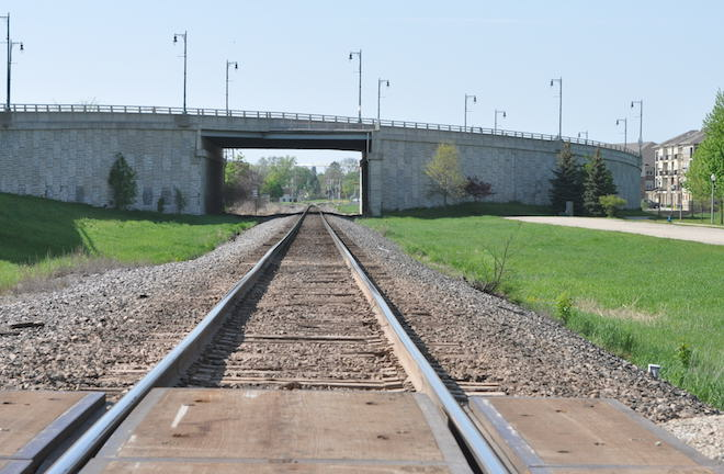 Rail siding would close crossing