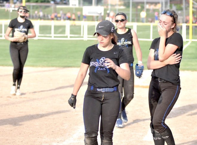 Season ends in heartbreak for Catholic Central softball