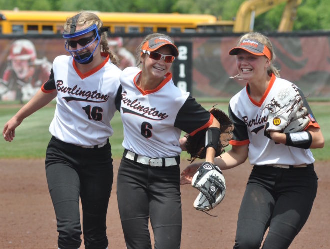 SOFTBALL ALL-AREA PLAYER OF THE YEAR: Westphal, Klein combined talent, leadership to make history