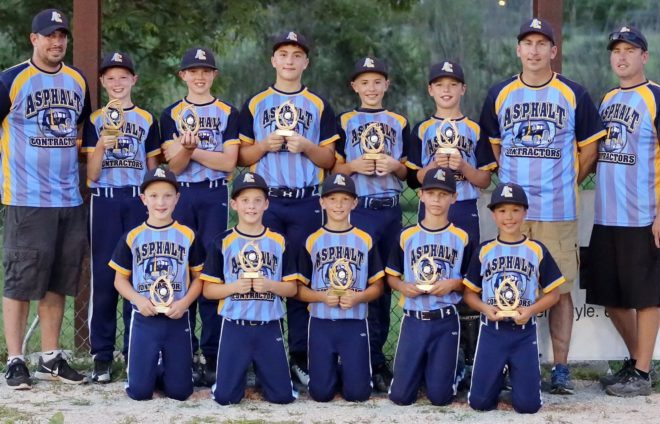 Asphalt Contractors captures Little League championship