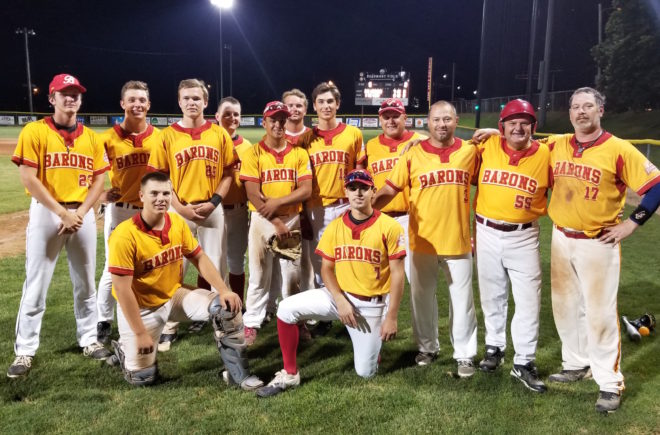 Friend helps fuel Burlington Rotary Barons' championship run