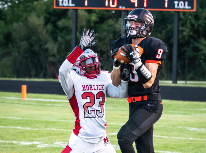 Webley's Believe it or Not: Burlington receiver puts on another show