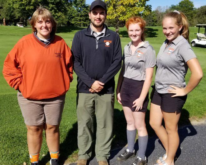 Burlington golf girls wrap up season at regionals