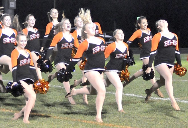 Just dance: Burlington High School Poms, Dance squad continues steady growth