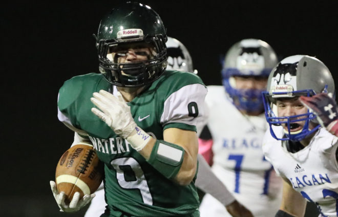 FOOTBALL PLAYOFFS: Waterford marches on, will face longtime nemesis Waukesha West