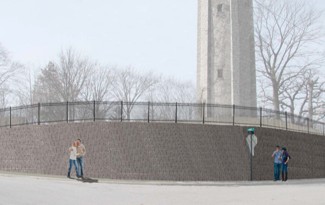 Costs exceed budget for Lewis Street wall project