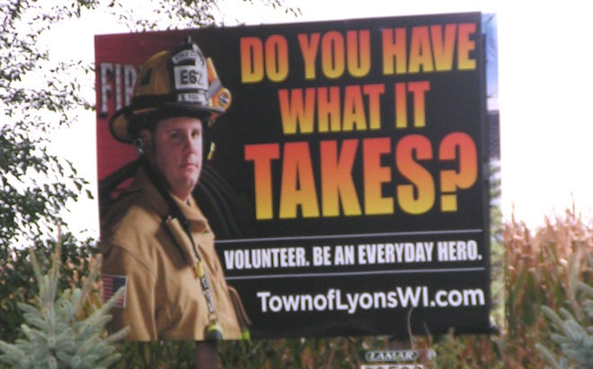 Fire department turns to recruitment ads