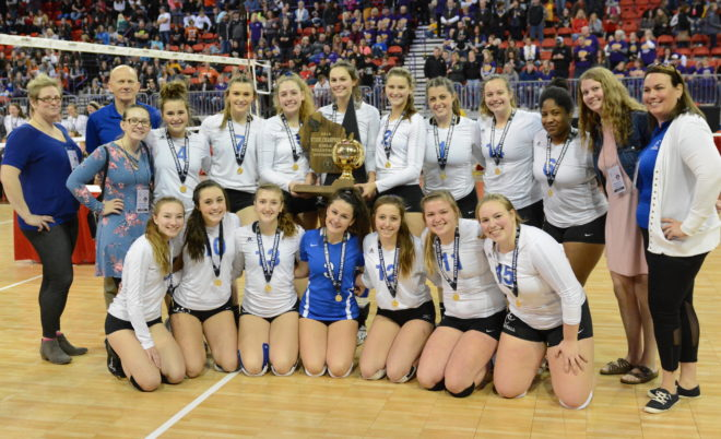BREAKING: Burlington Catholic Central wins volleyball state championship