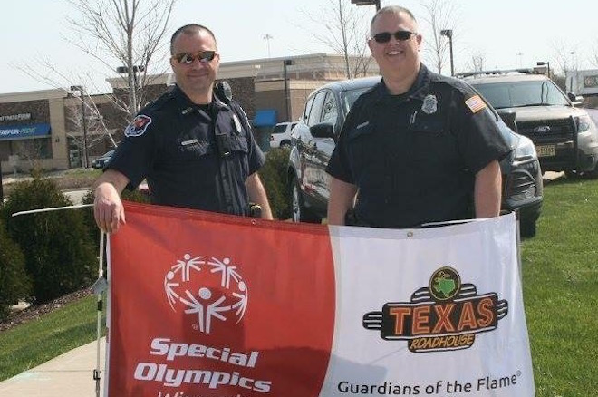 An officer's passion for the Special Olympics