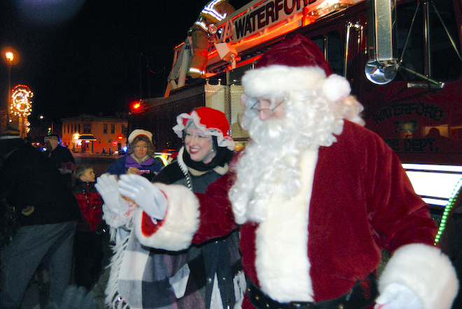 Waterford's Christmas parade postponed to Dec. 8