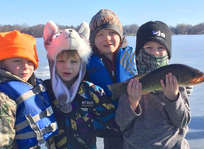 Fishing jamboree survives the thaw