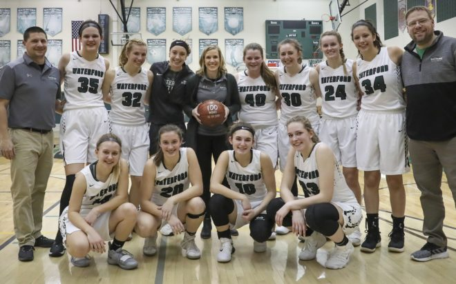 Brechtl wins 100th game, Waterford remains perfect in Southern Lakes