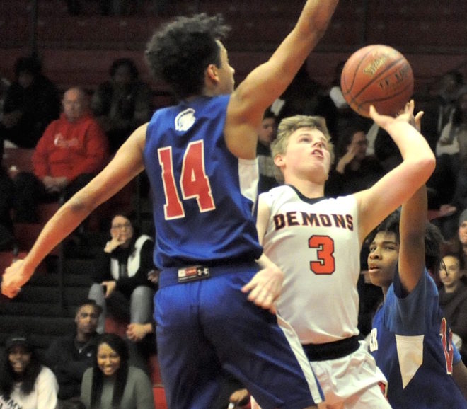 Burlington dominates Badger to open second half of SLC schedule