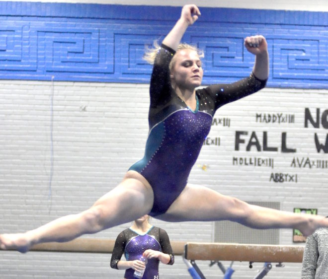 BUW gymnastics gears up for stretch run