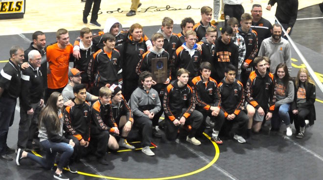 Burlington dominates Oak Creek, advances to state wrestling